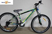 Велосипед 26'' Discovery TREK 2017 черно-сине-зеленый
