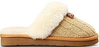 Комнатные тапочки Ugg Cozy Knit Cable Cream , фото 1