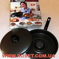 Сковорода, жароварка Dry Cooker Драй Кукер с антипригарным покрытием, фото 1