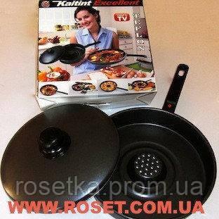 Сковорода, жароварка Dry Cooker Драй Кукер с антипригарным покрытием - Интернет-магазин «Росетка» в Киеве