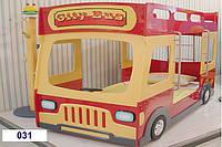 Двухярусная кровать Автобус