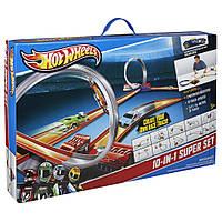 Хот Вилс мега-трек Hot Wheels 10 в 1 моторизированный многовариантный Y0267