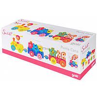 Развивающая игрушка Goki Паровозик Пунта Susibelle (55949)