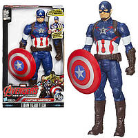 Titan Hero Series Captain America Electronic Figure Игрушка Капитан Америка Hasbro