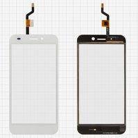 Сенсорный экран для мобильного телефона Nomi i507 Spark, original, белый, #FPC-YCTP50175MS V1