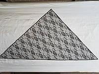 Косынка траурная (гипюр) размер 75 на 75