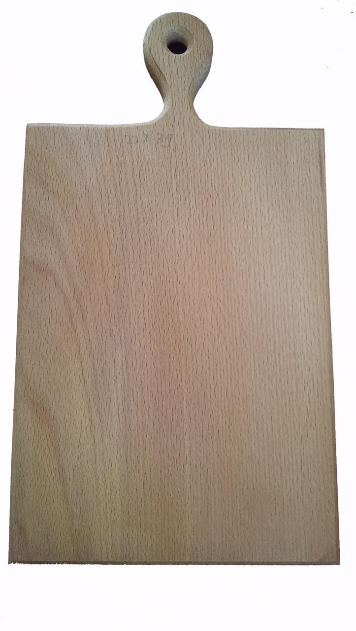 Дошка обробна дерев'яна 22*39 букова оптом і в роздріб