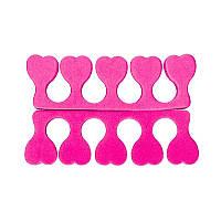 Растопырки для педикюра, 2шт, розовые
