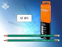 TZ 855А Карандаш чернографитный с ластиком TUKZAR
