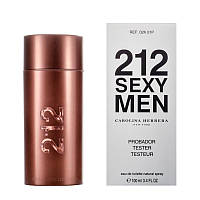 Carolina Herrera 212 sexy men 100ml тестер