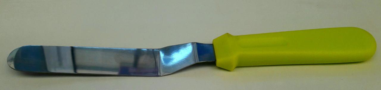 Кондитерский шпатель металлический №6