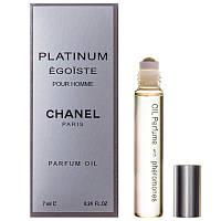 Chanel egoiste platinum pour homme parfum oil 7ml