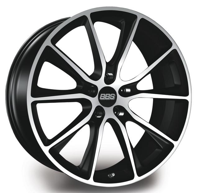 Диски BBS ( ББС ) Модель SV Цвет Satin Black / Diamond Cut