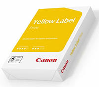 Бумага офисная Canon Yellow Label Print А4 80 г/м2 класс С+ 500 листов Белая