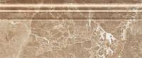 Керамическая плитка плинтус Lorenzo Modern тёмно-бежевый