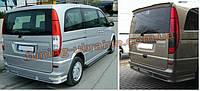 Юбка на задний бампер под покраску на Mercedes Vito 2003-2010