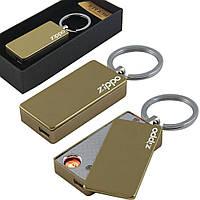 Современная USB зажигалка брелок с логотипом ZU330072616