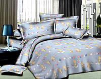 Ткань для постельного белья Ранфорс Bear in Stars Blue (60м)