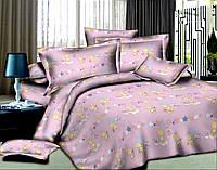 Ткань для постельного белья Ранфорс Bear in Stars Pink (60м)