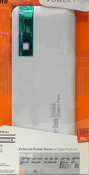 Внешний аккумулятор (power bank) 30000мАч (6000мАч) FS-013-30000