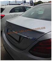 Спойлер без стопа под покраску на Mercedes S W222 2013
