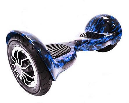 Гироскутер Smart Way Balance 1000W синее пламя, фото 2
