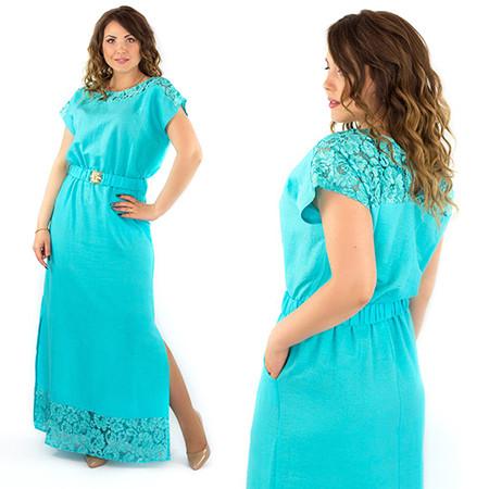 Длинные платья 48+