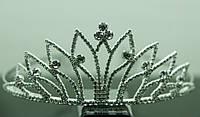 Не высокие свадебные диадемы. Необычные диадемы из страз и кристаллов 167