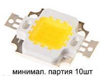 Светодиод (10Вт, питание 9-12V) белый (упаковка-10шт)