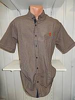 Мужская рубашка с коротким рукавом (3XL–6XL) батал — купить оптом в Украине Одесса 7км прямой поставщик склад