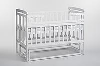 Детская кровать трансформер лодочка белый б/я DeSon