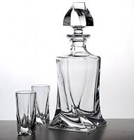 Boh.Quadro Набор для водки (6 рюмок, 1 графин 457мл)-7пр