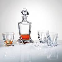 Boh.Quadro Набор для виски (6 стаканов, 1 графин 750мл)-7пр