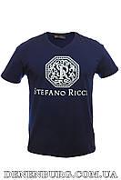 Футболка мужская STEFANO RICCI 5029 темно-синяя, фото 1