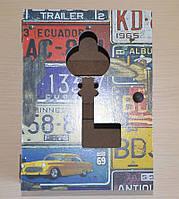 """Настінна ключниця """"Ретро"""", фото 1"""