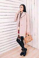 TM Ozze Женское весеннее пальто из бежевого кашемира Д 112