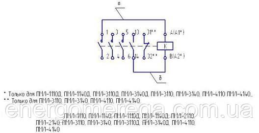 Пускатель ПМЛ 1110Д 24В исп.Б, фото 2