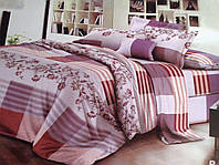 Полуторный набор постельного белья Ранфорс 123