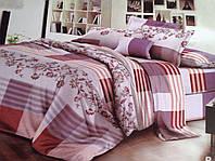 Двуспальный набор постельного белья Ранфорс 123