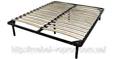 Ортопедический каркас с ламелями для кровати 1400х1900