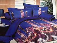 Двуспальный набор постельного белья Ранфорс 131