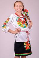 Харьков Вышиванка детская блуза VDD-4