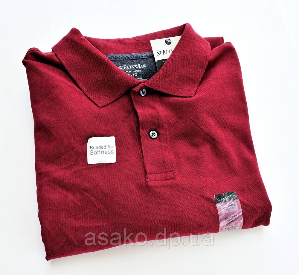 Рубашка поло St.John s Bay (XL). Длинный рукав.Оригинал из США ... cce8627de8f