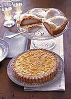 Торт с лимоном и кедровыми орехами