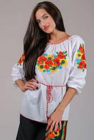 Харьков Вышиванка женская блуза LS-9
