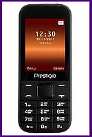 Телефон Prestigio 1240 Duo (Black). Гарантия в Украине 1 год!