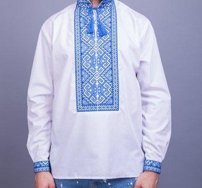 Мужская вышиванка в традиционном  украинском стиле