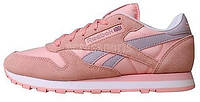 Женские кроссовки Reebok Classic Leather Seasonal Pink