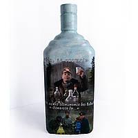 Декор бутылки Особенности национальной охоты  Подарок для мужчины охотника. на день рождения, фото 1