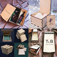 Изготовление деревянных коробок оптом